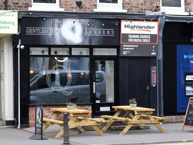 Q Gentlemen's Barbers in Bishopthorpe Road has been served six fixed penalty notices