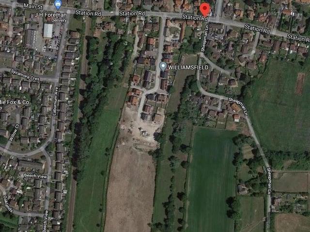 The Williamsfield Developments site in Hutton Cranswick