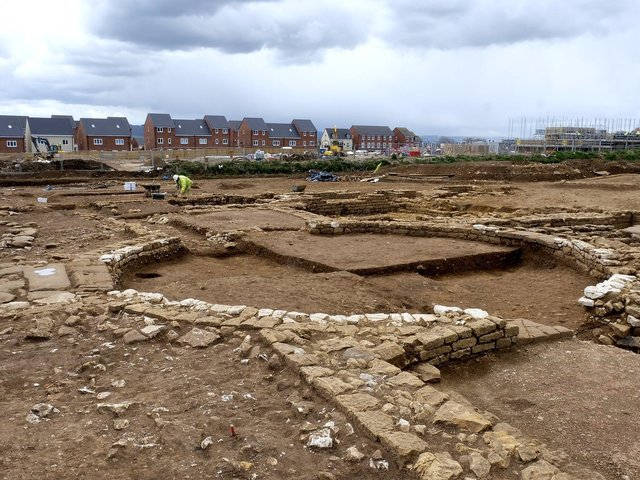 An unusual circular room is of particular interest to archaeologists.