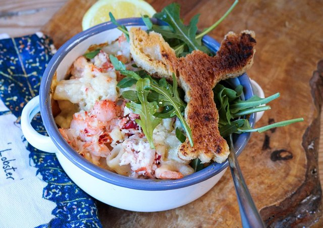 Lobster Mac 'n' Cheese from Gilly Robinson, The Cooks Place, Malton