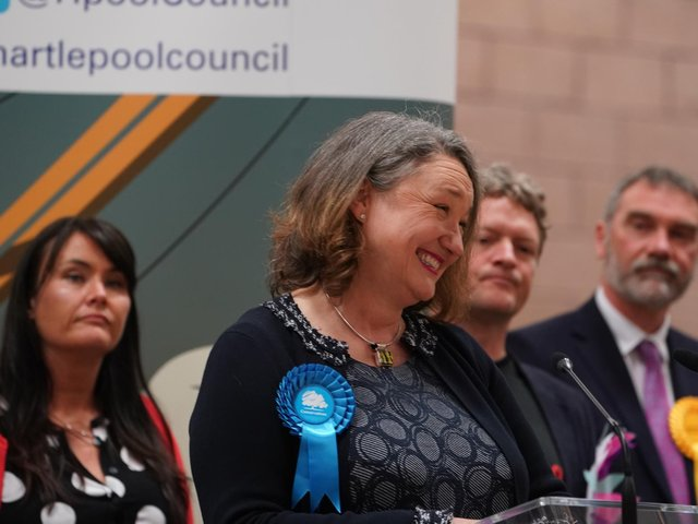 Jill Mortimer comfortably won the Hartlepool by-election
