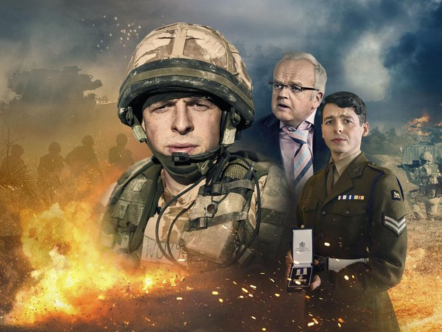 Anthony Boyle and Toby Jones star in new one-off drama Danny Boy.