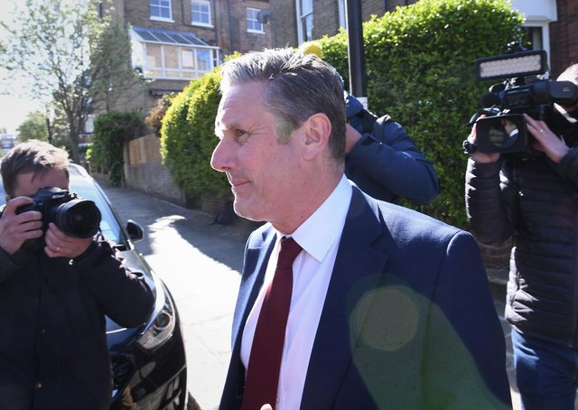 Labour leader Sir Keir Starmer is coming to terms with the party's heavy defeat in the Hartlepool by-election.