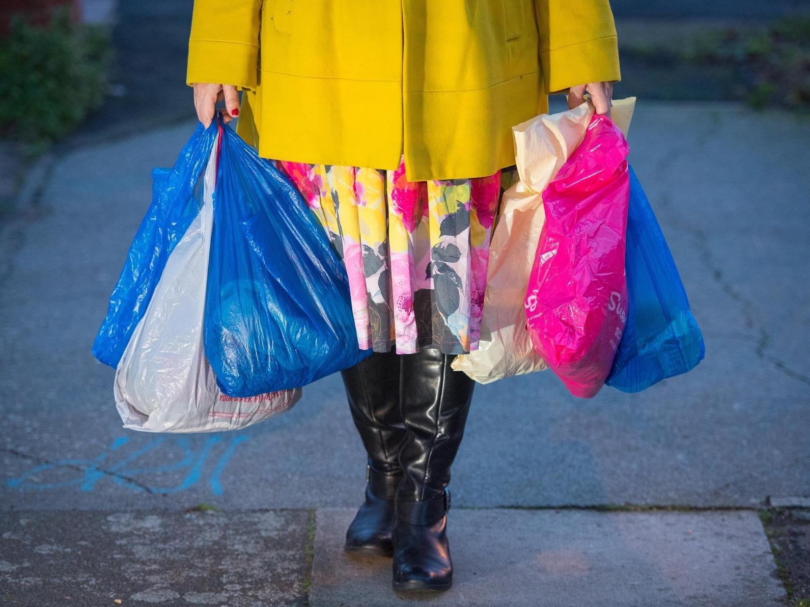 Plastic bag charge to increase from 5p to 10p from May 21, Government confirms