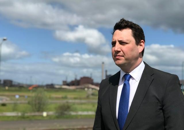Ben Houchen has been Tees Valley's mayor since 2017.