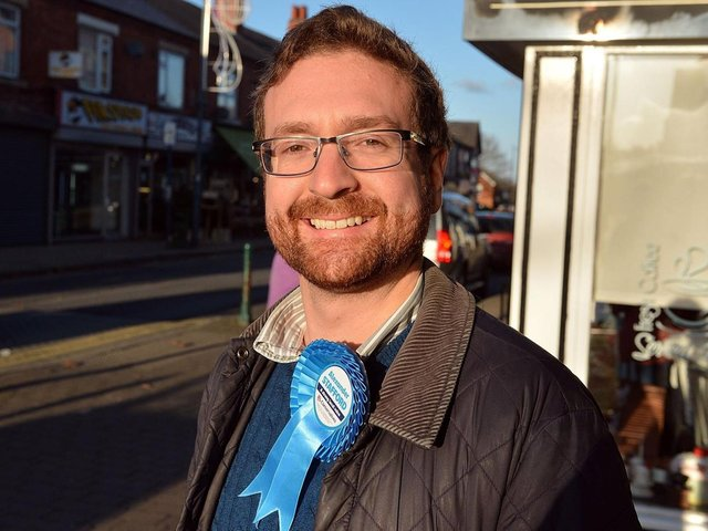 Rother Valley MP Alexander Stafford.