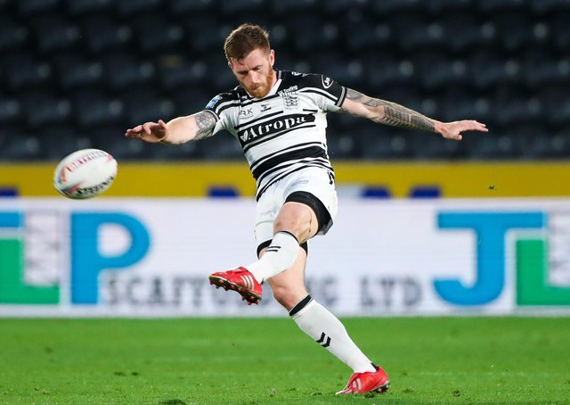 Hull FC's Marc Sneyd is one of the best kickers in the game (Picture: SWPix.com)