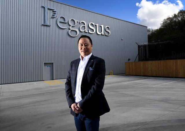 Ivan Zhou, chief executive of Pegasus World Holding. Picture: Simon Hulme