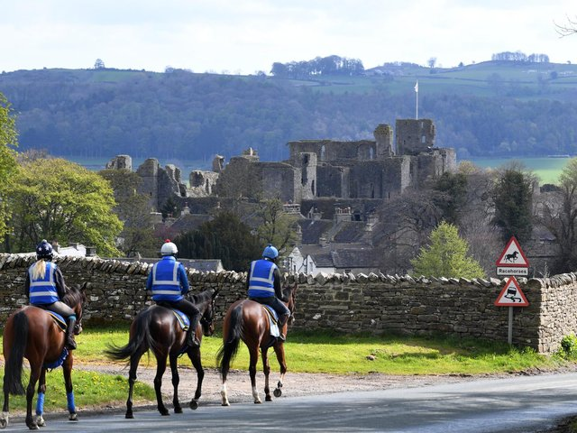 Middleham is known for its castle as well as its links to horse racing. Picture: Simon Hulme