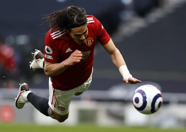 Differential - Manchester United's Edinson Cavani (Picture; PA)