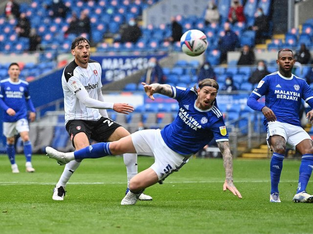 Action from Rotherham United's game at Cardiff. Picture: Getty Images.