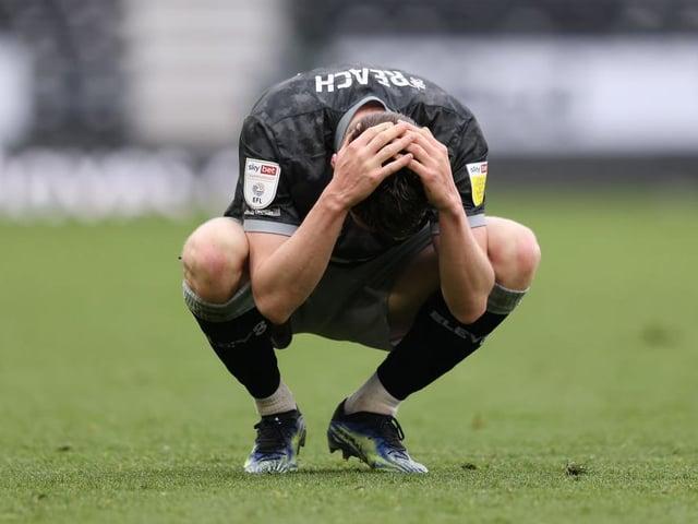 RELEGATED: Sheffield Wednesday wing-back Adam Reach