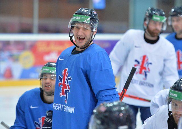 EVERGREEN: Sheffield Steelers and GB captain Jonathan Phillips. Picture: Dean Woolley.