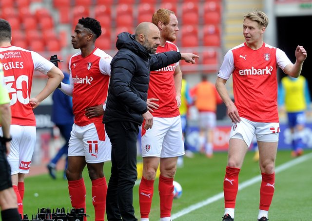 Rotherham manager Paul Warne. Picture: Simon Hulme