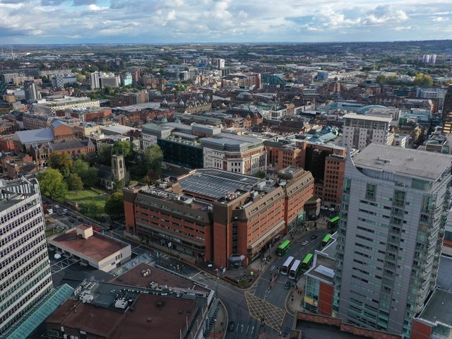 St Johns Centre, one of the largest mixed-use developments in Leeds, has been placed on the market for £33m.