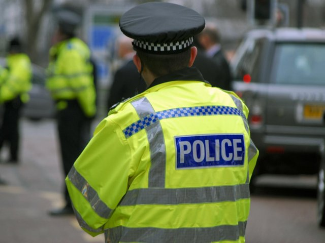 Police in Barnsley have made an arrest following reports of a man threatening members of the public with a crossbow