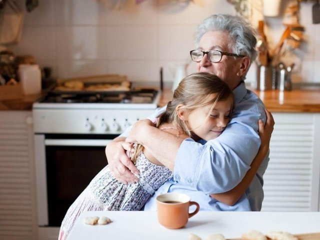 Hugging is set to be allowed from May 17 (photo: Shutterstock)
