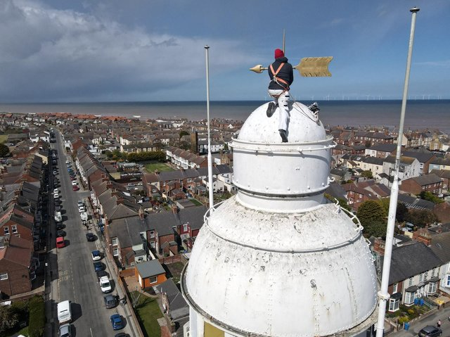The Victorian lighthouse - now a museum - is getting a new lick of paint