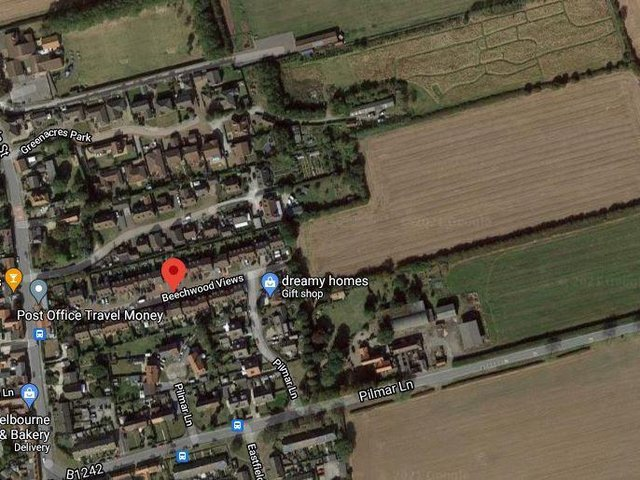 The site is off Beechwood Views in the Holderness village of Roos