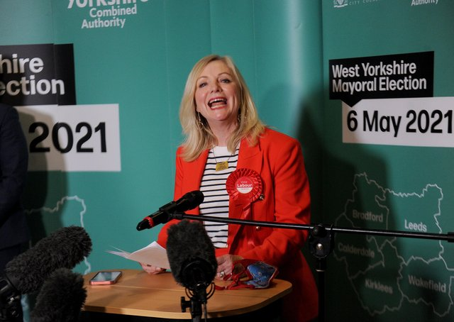 Tracy Brabin is the new mayor of West Yorkshire.