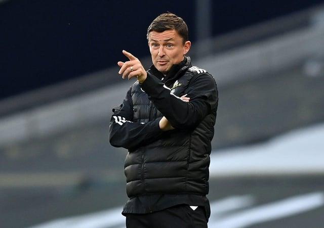 Sheffield United interim manager Paul Heckingbottom: Planning ahead.