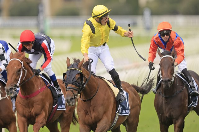 This was Tom marquand and Addeybb winning a second successive Queen Elizabeth II Stakes in Australia.