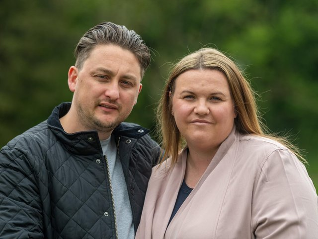 For Andy and Whitney Pickup the last three years have been filled with heartache, devastation and excruciating pain that no parent should have to endure after their daughter Matilda tragically died of brain damage when she was just nine days old.