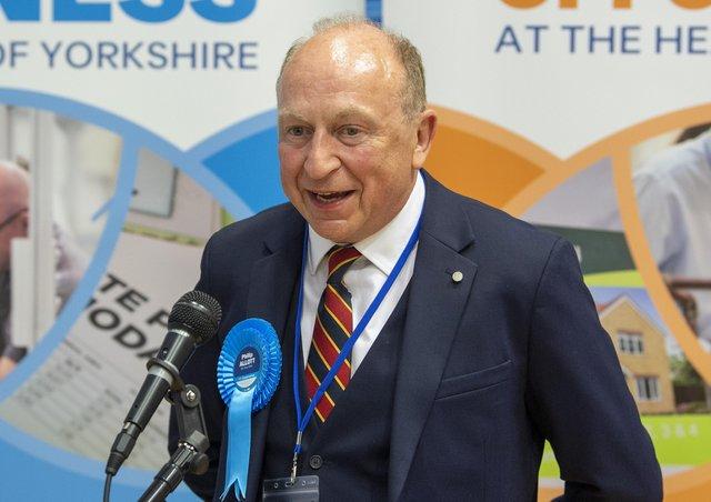 Philip Allott is the new crime commissioner for North Yorkshire.
