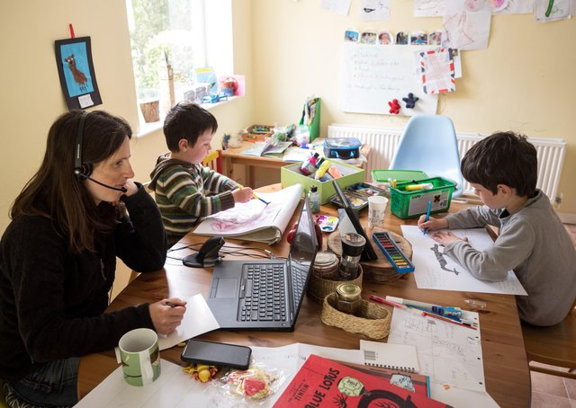 Is home working good for family life - or not?
