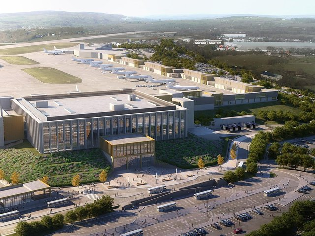 Getting the airport upgraded 'a key priority'.