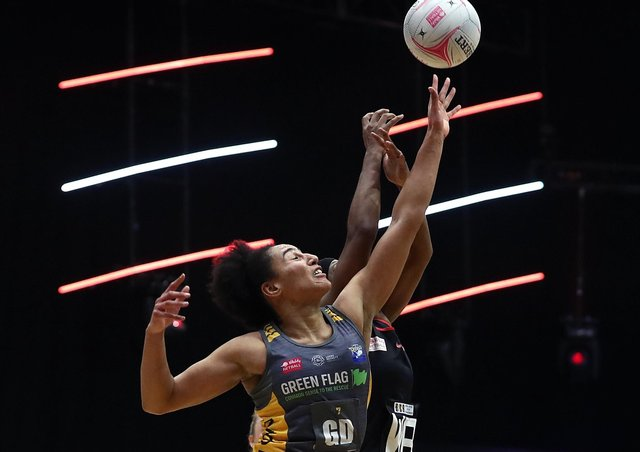Leeds Rhinos co-captain Vicki Oyesola has retained her England Roses place. Picture: Jan Kruger/Getty Images for Vitality Netball Superleague.