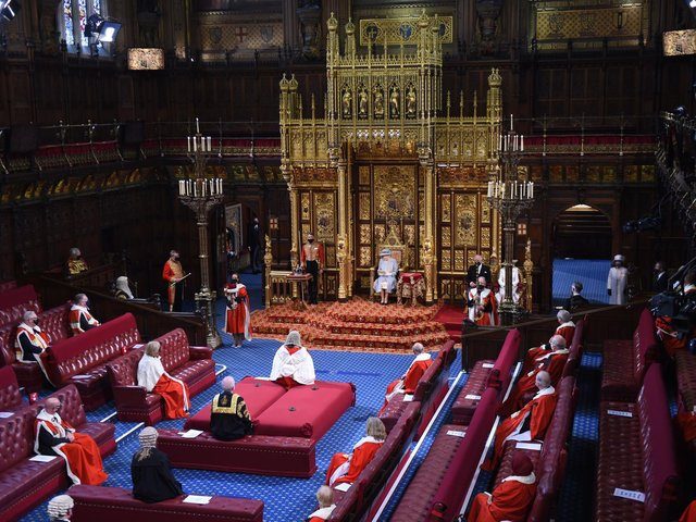 In a speech delivered by the Queen in the House of Lords to a much smaller audience than usual, the government's priorities were laid out for the next year.
