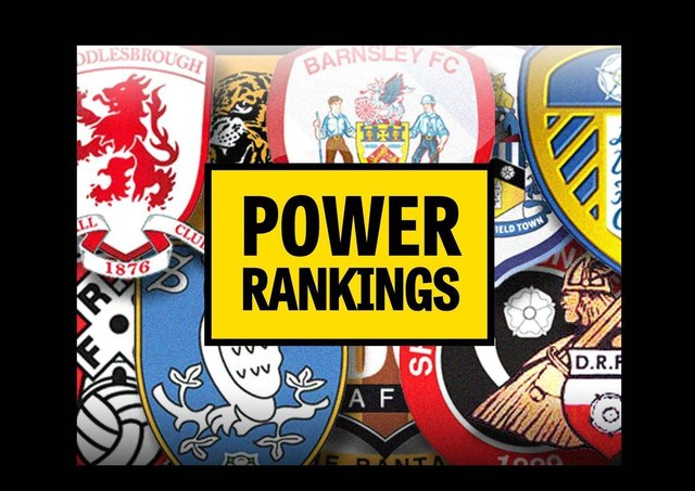 Hull City top the YP Power Rankings ... as well as the League One table.