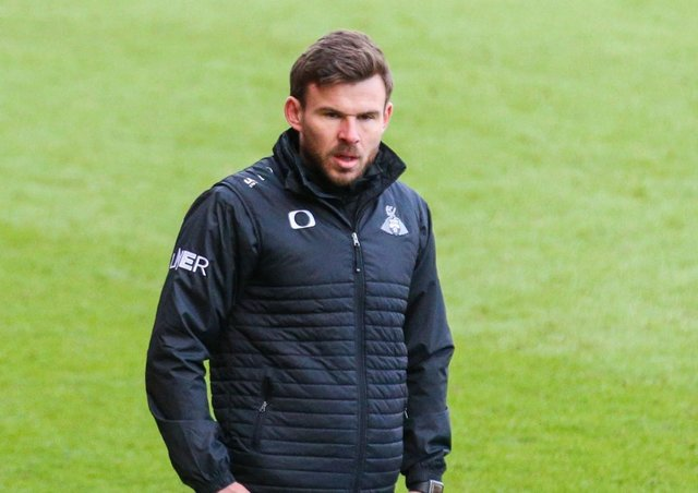 Doncaster Rovers interim manager Andy Butler.