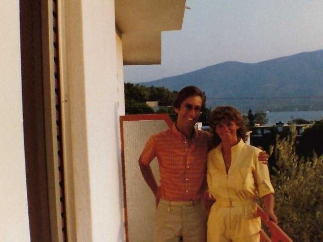 Michaela Fowler with her husband Stephen