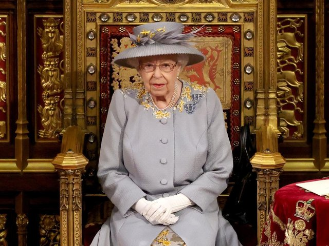 In a speech somewhat devoid of its usual pomp, the Queen set out the government's legislative agenda over the next year in her first public appearance since the funeral of the Duke of Edinburgh last month.