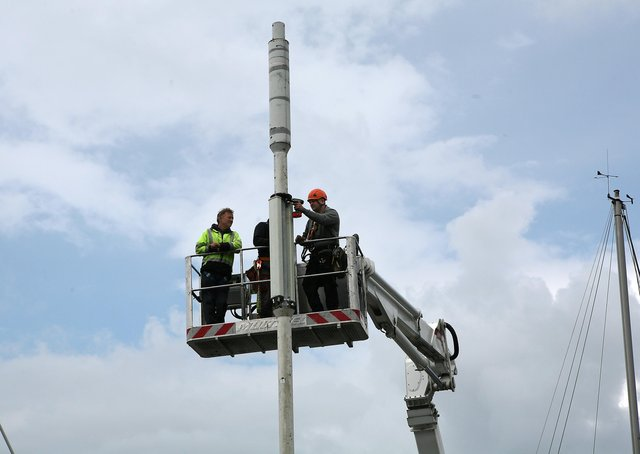 there's controversy over how much landowners are paid to have mobile phone masts on their land.