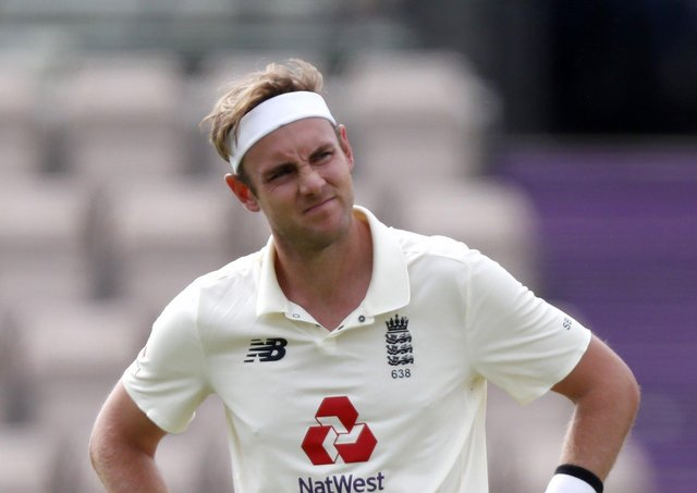 OPTIMISTIC: England's Stuart Broad. Picture: Alastair Grant/PA Wire.