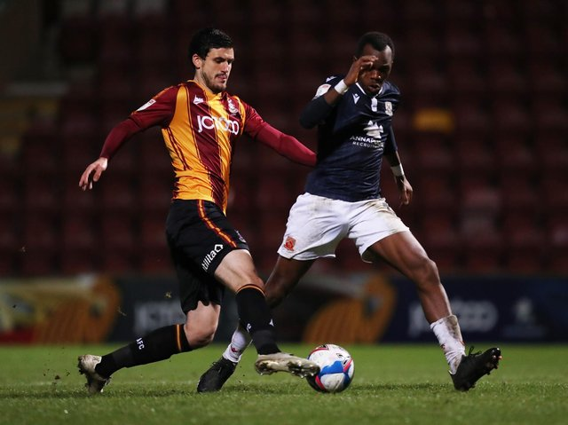 RELEASED: Anthony O'Connor will not get a new contract at Bradford City