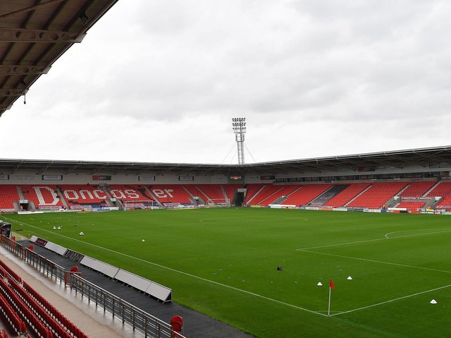 Keepmoat Stadium, home of Doncaster Rovers.