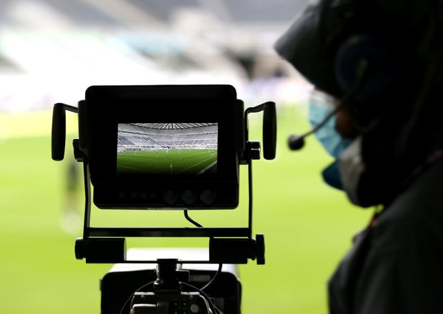 Camera work: A proposal to roll over their existing television deal with the Premier League for a further three years from 2022 to 2025 has been agreed. Picture: PA