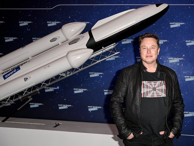 Elon Musk. (Pic: Getty Images)