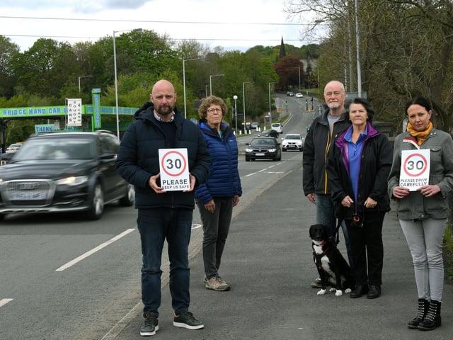 Apperley Bridge residents are demanding action is taken to stop speeding drivers