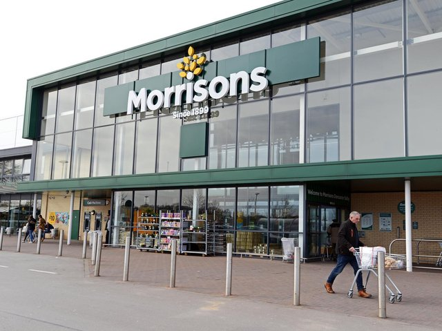 Morrisons in Doncaster, South Yorkshire. Picture: Marie Caley.