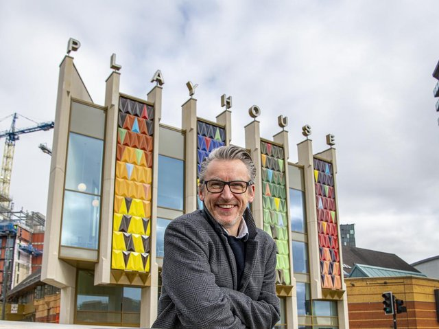 James Brining, artistic director at Leeds Playhouse. (Tony Johnson).