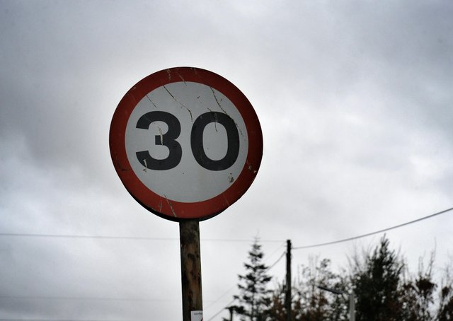 How should 30mph speed limits be enforced?