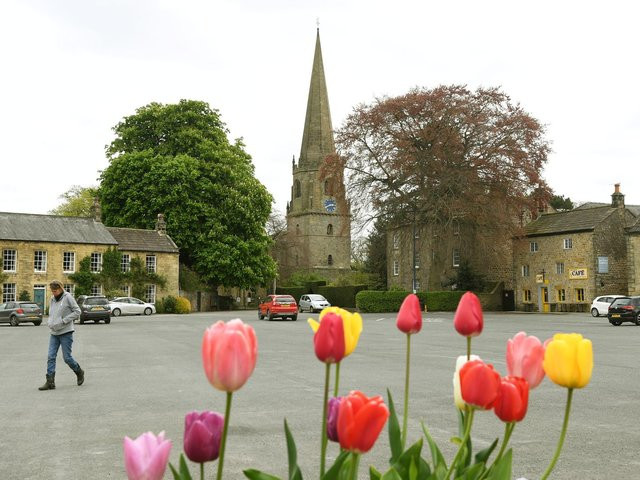 The historic market town of Masham in lower Wensleydale is a magnet for visitors and would-be buyers