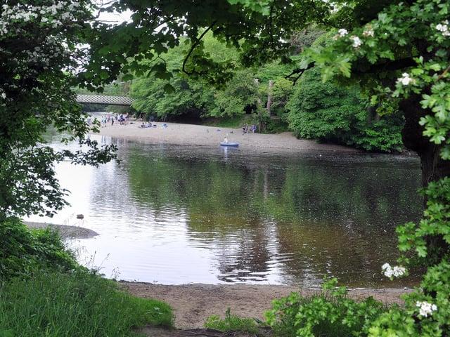 The River Wharfe at Ilkley