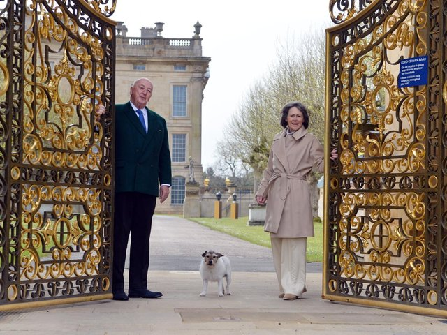 Chatsworth House reopening with the Duke and Duchess of Devonshire. Image by Brian Eyre