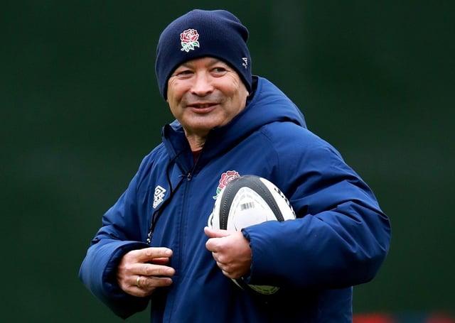England head coach Eddie Jones. Photo: David Rogers/PA Wire.